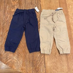 Gap pull on khaki pants bundle 18-24 months